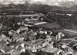 [74] Haute Savoie > Non Classés Champanges Vue Panoramique Aerienne Au Fond La Dent D Oche - Non Classés