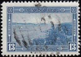 CANADA - Scott #242 Entrance To Halifax Harbor (*) / Used - Used Stamps
