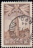 CANADA - Scott #257 Parliament Buildings 'Timmins Post Mark' (1) / Used - Used Stamps