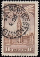 CANADA - Scott #257 Parliament Buildings 'New Westminster Post Mark' (3) / Used - Used Stamps