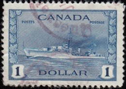 CANADA - Scott #262 Destroyer / Used - Used Stamps