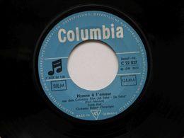 SP Edith Piaf  / Hymn De Amour Columbia - Hard Rock & Metal