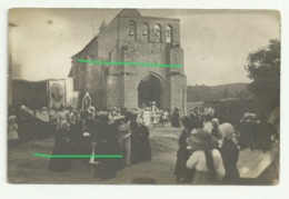 SAINT QUENTIN LA CHABANNE  Carte Photo Procession - Francia