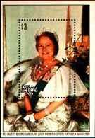 72324) NIUE - NATALE -REGINA MADRE 80th Compleanno 1980 -BF-37 - MNH** - Niue