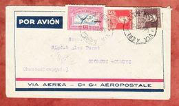 Luftpost, MiF Flugpostmarke U.a., Buenos Aires Nach Olomouc Olmuetz 1933 (58060) - Argentinien