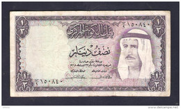 Kuwait 1/2 Dinar 1968 - Koweït