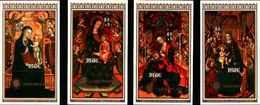 72327) NIUE - Natale Dipinti Issue 1979 Associazione Di Beneficenza  -BF-24-25-26-27 - MNH** - Niue