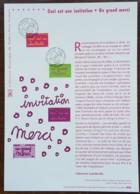 COLLECTION HISTORIQUE - YT N°3760, 3761 - CECI EST UNE INVITATION / UN GRAND MERCI - 2005 - 2000-2009