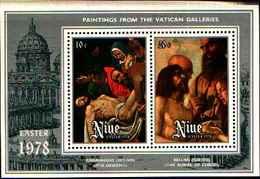 72328) NIUE - 1978 Pasqua -BF-4 - MNH** - Niue