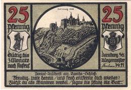 Deutschland Notgeld 25 Pfennig Mehl281.1 DORNBURG /66M/ - [11] Emissions Locales