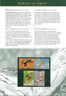 AUSTRALIA Uccelli Birds  Serie Completa Nuova ** MNH In Folder Bellissima - Aigles & Rapaces Diurnes