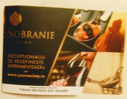 ROMANIA-CIGARETTES  LUCKY CARD, GOOD SHAPE - Tabac (objets Liés)