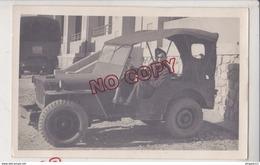 Au Plus Rapide Photo Format Carte Photo Militaire Jeep Hotchkiss Willys Très Bon état - Vehicles