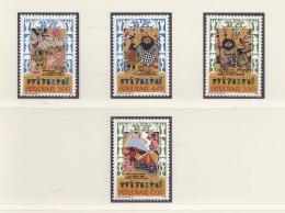 Faroe Islands Chess   4 Stamps MNH/**  (H42) - Non Classés