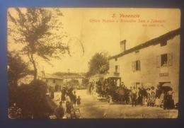 S. Venanzio Uff. Postale Riv. Sale Tabacchi Animatissima Viaggiata 1912 - Modena