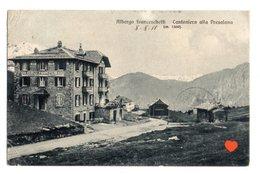 35715-ZE-ITALIE-Albergo Franceschetti-Cantoniera Alla Presolana (m. 1300 ) - Andere Steden