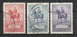 AUSTRALIA 1935 - SILVER JUBILEE - CPL. SET - USED OBLITERE GESTEMPELT USADO - Oblitérés