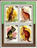 72349) NIUE - MARSUPIAUX  1 Bloc De 1984 ** KANGOUROU- BF-75 - MNH** - Niue