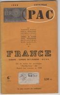 Catalogue PAC. France 1962 En Bon état - Belgique