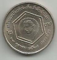 Thailand 2 Baht 1986. Y#191 Einstein - Thaïlande