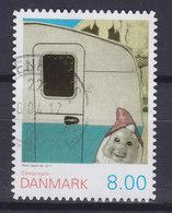 Denmark 2011 Mi. 1641 C    8.00 Kr. Camping Life (from Booklet) - Dänemark