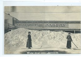 Truckee Winter Street Scene ( California ) - United States