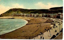 CARDIGANSHIRE - ABERYSTWYTH - MARINE PARADE 1909 Dyf131 - Cardiganshire