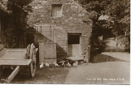 REAL PHOTO POSTACRD - ISLE OF MAN - GLEN MAYE - THE OLD MILL -  -    -  B195 - Isle Of Man