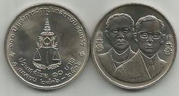 Thailand 10 Baht 1993. Y#286 100th Anniversary Of Attorney General's Office - Thaïlande
