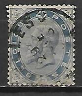 BELGIQUE   -   1883 .   Y&T N° 40 Oblitéré   .cote 35,00 Euros. - 1883 Leopold II