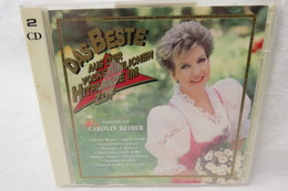 """2 CDs """"Das Beste Aus Der Volkstümlichen Hitparade Im ZDF"""" Vorgestellt Von Carolin Reiber - Sonstige - Deutsche Musik"""