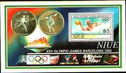 72357) NIUE -1992 GIOCHI OLIMPICI-Barcellona . -BF-119. - MNH** - Niue