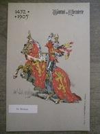 Cpa Tournai - Tournoi De Chevalerie - 1452-1905 - De Renesse - Vandamme & Co éditeurs - Tournai