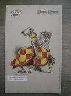 Cpa Tournai - Tournoi De Chevalerie - 1452-1905 - Chevalier Beer D'Auxy - Vandamme & Co éditeurs - Tournai