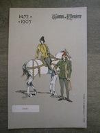 Cpa Tournai - Tournoi De Chevalerie - 1452-1905 - Pages - Vandamme & Co éditeurs - Illustrateur Litho Ch. Michel - Tournai