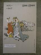 Cpa Tournai - Tournoi De Chevalerie - 1452-1905 - La Duchesse De Bourgogne & Aultres Dames - Illustrateur Ch. Michel - Tournai