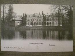 Cpa Schoten Schooten - Chateau De Calixberghe - F. Hoelen Phot. Cappellen - Schoten