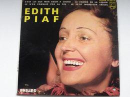 EP Edith Piaf  / Cest Lue Que Mon Coeur A Choisi / Philips - Hard Rock & Metal