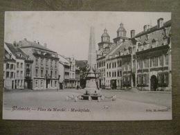 Cpa Malmédy (Liège) - Place Du Marché - Marktplatz - Edit. M. Bragard - Malmedy