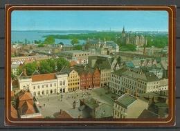 Deutschland SCHWERIN 1990 Nach Estland Gesendet, Mit 3 Briefmarken - Schwerin