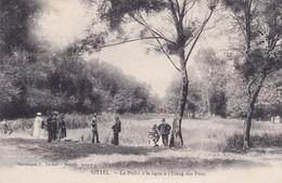 88 Vosges Vittel La Pêche à La Ligne à L'étang Des Fées - Vittel Contrexeville