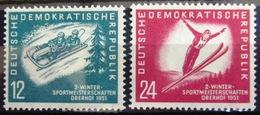 ALLEMAGNE Rép.démocratique               N° 32/33                    NEUF** - [6] République Démocratique