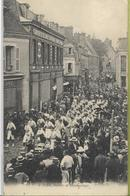 VIERZON   Concours De Pêche 5 Août 1907  Le Défilé Société De Gymnastique - Vierzon