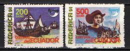 ECUADOR - 1991 - CRISTOFORO COLOMBO - USATI - Ecuador