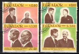 ECUADOR - 1967 - JOHN F. KENNEDY - USATI - Ecuador