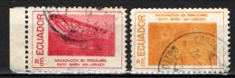 ECUADOR - 1957 - Issued To Commemorate The Opening Of The Quito-Ibarra-San Lorenzo Railroad - USATI - Ecuador