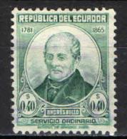 ECUADOR - 1948 - Andre´s Bello (1781-1865), Educator - USATO - Ecuador