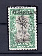 1916  Ruanda-Urundi, Type Tombeur  Surcharge Ruanda, 11 Ob, Cote 550 €, - Ruanda-Urundi