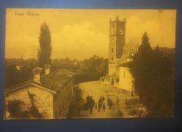 Torre Maina Maranello Animata Viaggiata 1915 - Modena