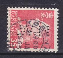 Denmark Perfin Perforé Lochung (H75) 'H.W.' Holm & Wonsild, København (2 Scans) - Abarten Und Kuriositäten